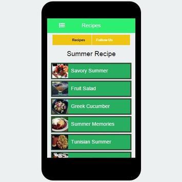 Summer Recipe screenshot 7