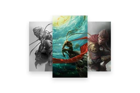 Sun Wukong the Monkey King Wallpaper screenshot 3