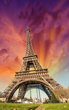 Sunny Paris Live Wallpaper poster