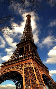 Sunny Paris Live Wallpaper apk screenshot