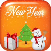 New Year Stickers Photo Editor icon