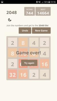 2048 Puzzle Game New - 2018 screenshot 2