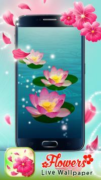 Flowers Live Wallpaper screenshot 4