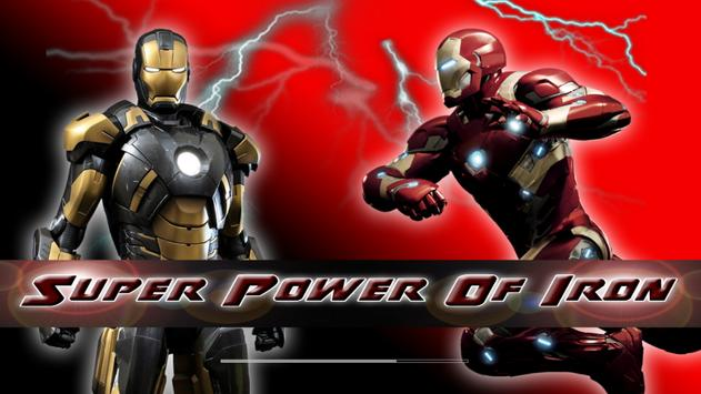 Super Power Of Iron poster