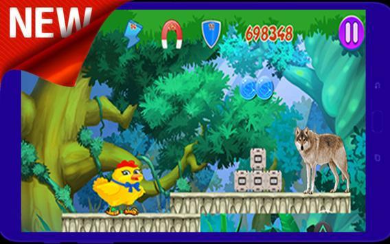 ★ Super Chicken Adventure Jungle ★ screenshot 4