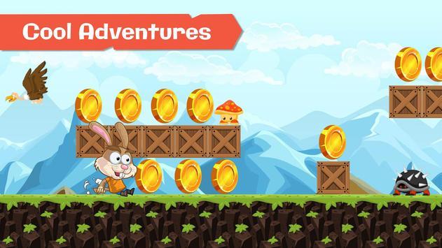 Super Peter Running Rabbit screenshot 1