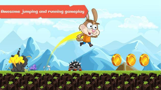 Super Peter Running Rabbit screenshot 2