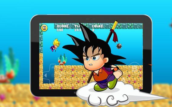 Super Saiyan Goku World Jungle apk screenshot