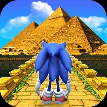 Temple of Sonic in Pyramid Run poster