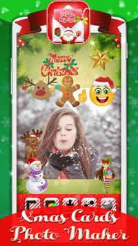 Xmas Cards Photo Maker poster