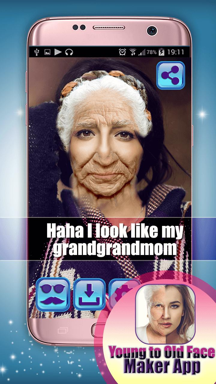 Young to Old Face Maker App for Android - APK Download