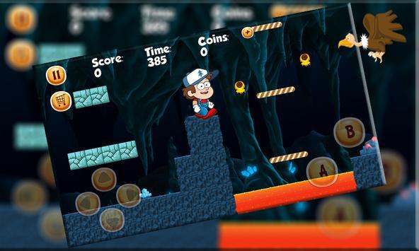 Super Gravity Run  Adventure Falls screenshot 3