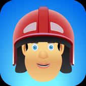 Super Fireman  Adventure of Castle Sam Run icon