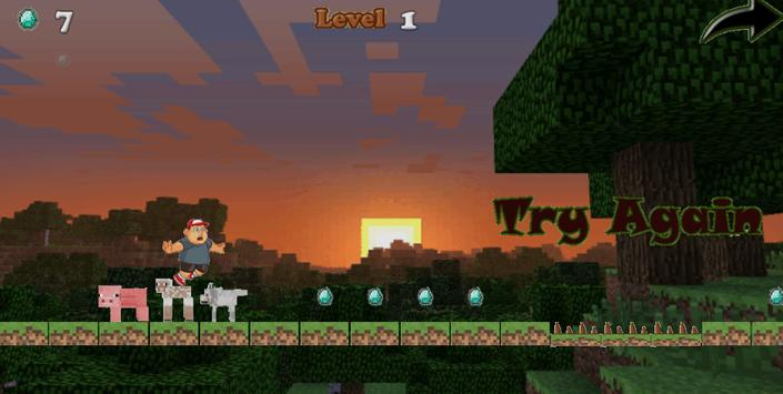 SuperCraft Adventures Fun Game apk screenshot