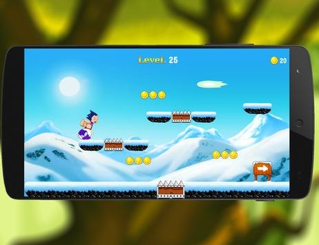 Super iron Max Runner Stell screenshot 1