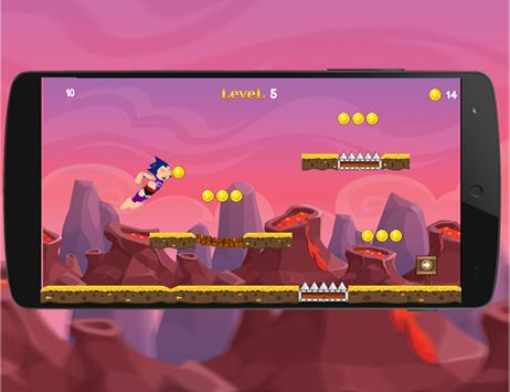Super iron Max Runner Stell screenshot 3