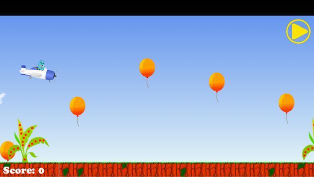 Super gum fly ball apk screenshot