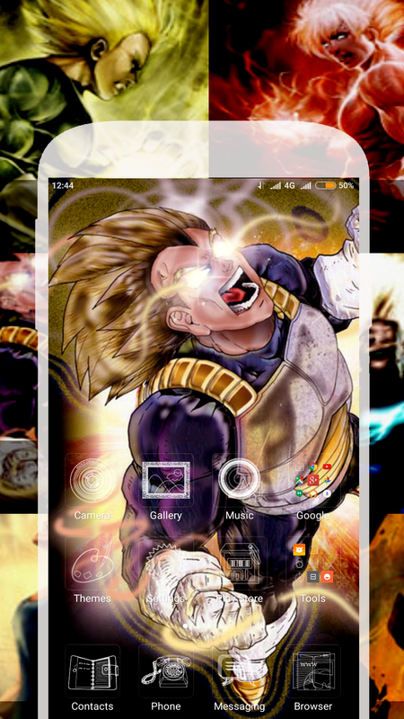 ... Super Dragon Goku : DBZ Live Wallpaper screenshot 1 ...