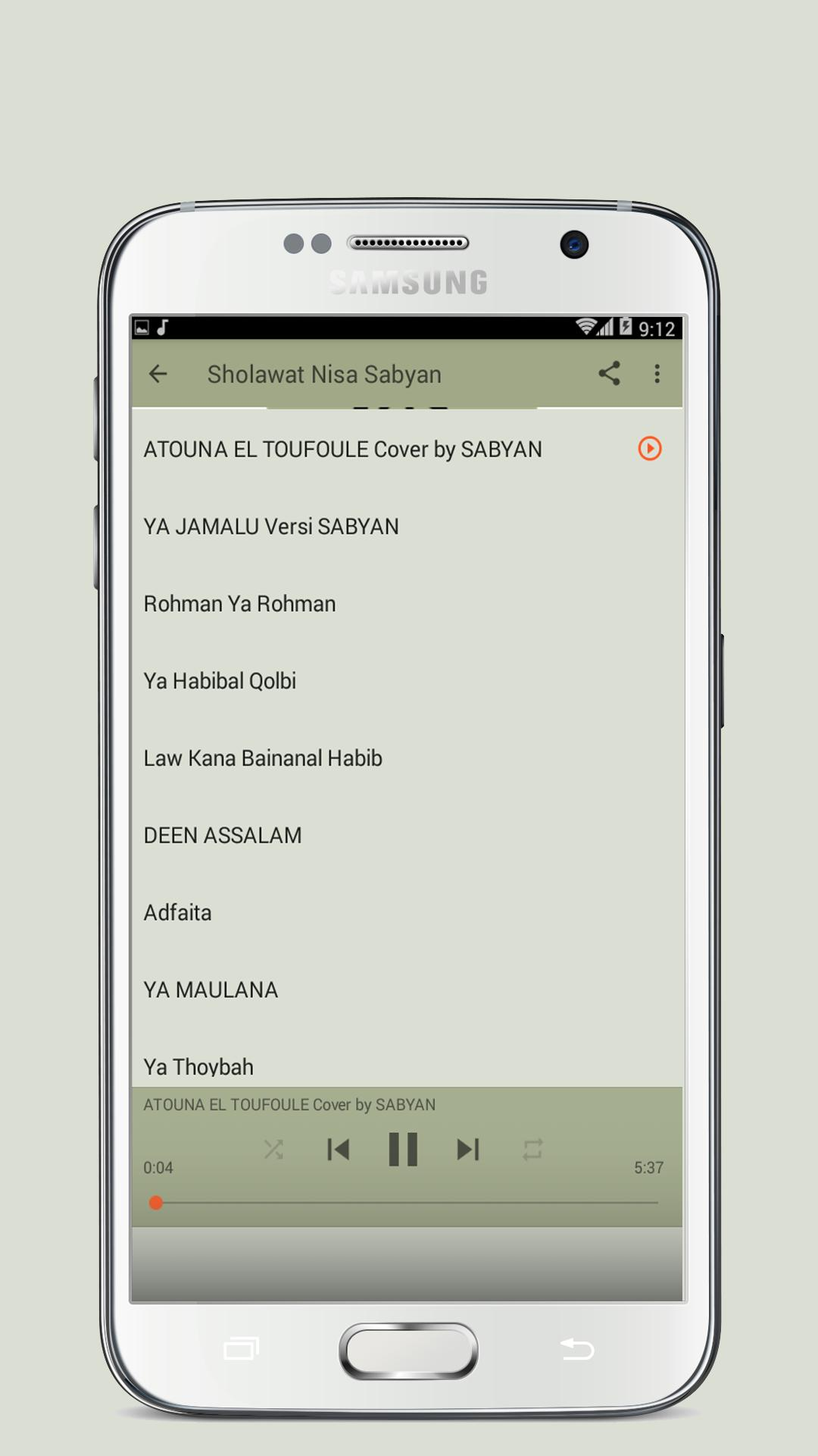 Nissa Sabyan Full Album Mp3 for Android - APK Download