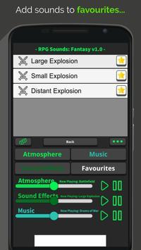 RPG Sounds: Fantasy screenshot 1