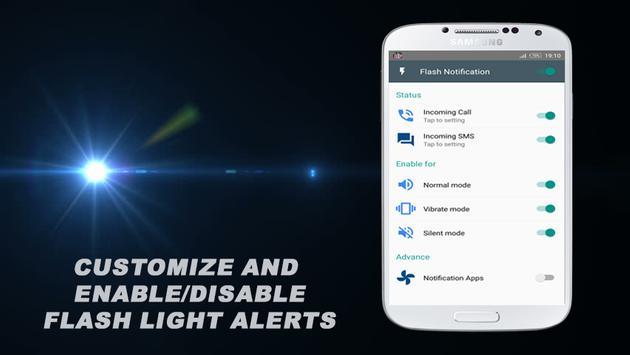 Super Flash Light Alerts poster