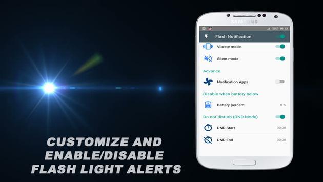 Super Flash Light Alerts apk screenshot
