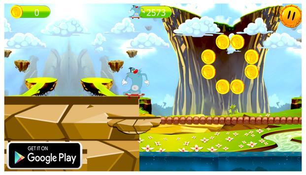 Super Oggy world apk screenshot