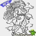 Learn to draw sketches son goku super saiyan
