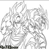 Best Super Skate Goku Sketch icon