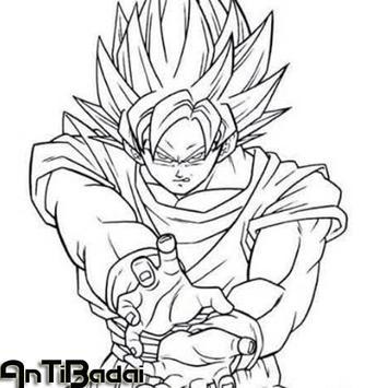 Best Super Skate Goku Sketch poster