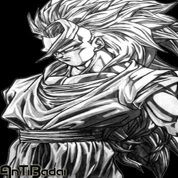 Best Super Skate Goku Sketch screenshot 1