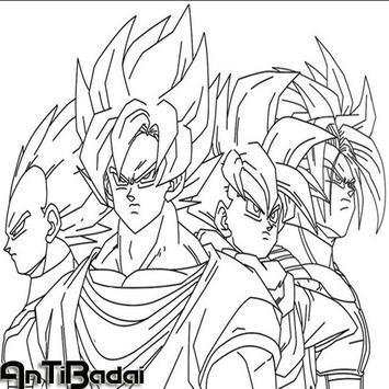 Best Super Skate Goku Sketch screenshot 4