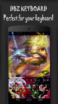 Super Saiyan : Dragon Goku DBZ Keyboard apk screenshot