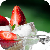 Strawberry fruits. Wallpapers icon