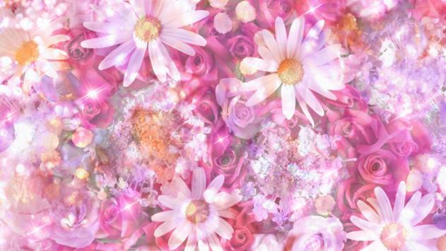 Pink dreams. Flower wallpaper apk screenshot