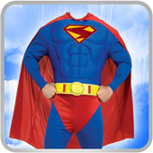 Superhero Man Costume icon