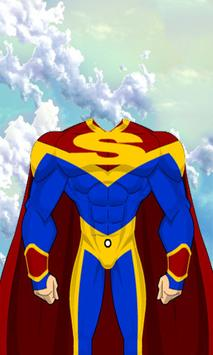 Superhero Man Costume screenshot 2