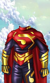 Superhero Man Costume screenshot 4