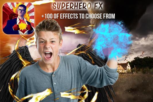 Superhero Movie FX Maker PRO apk screenshot