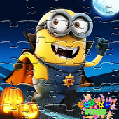 Superheroes Minions Puzzle icon