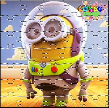 Superheroes Minions Puzzle apk screenshot