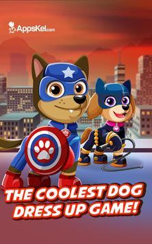 Super Hero Pet Pups Creator – Dog Dress Up poster