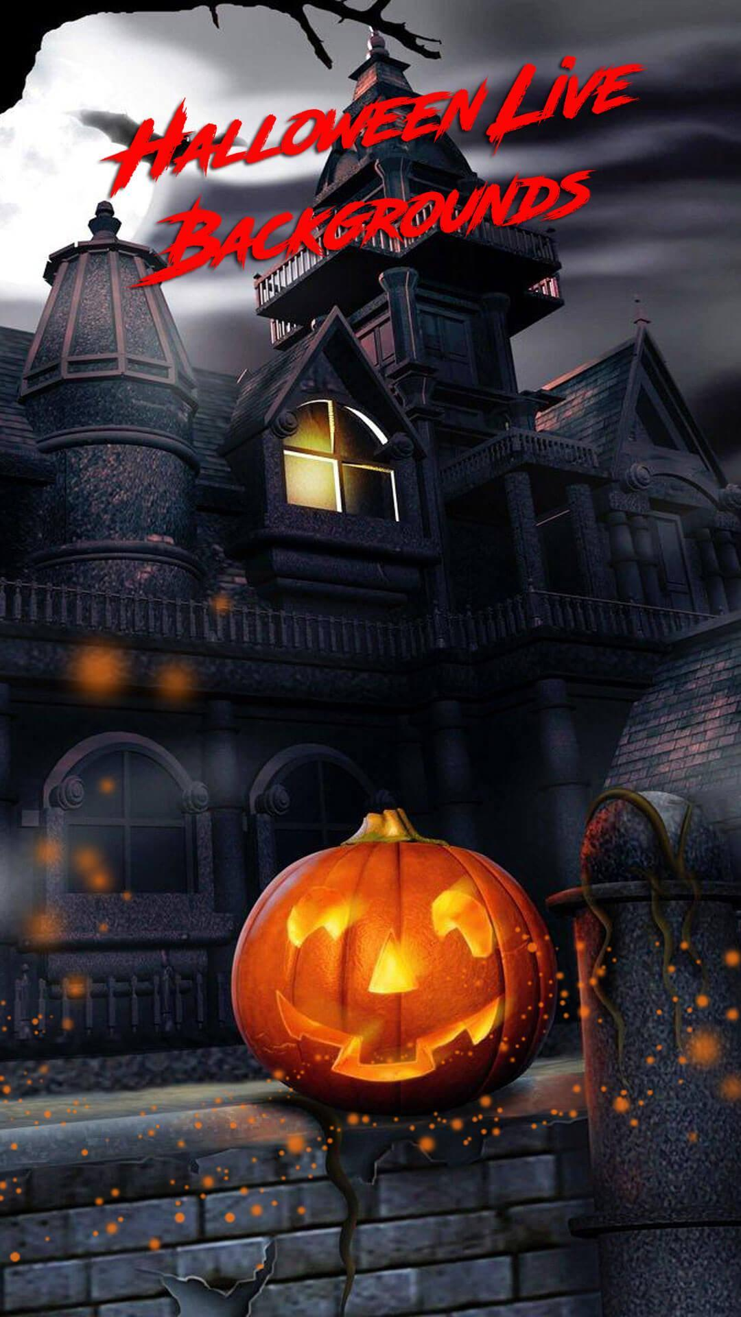 Live Halloween Wallpaper Scary Backgrounds For Android Apk Download