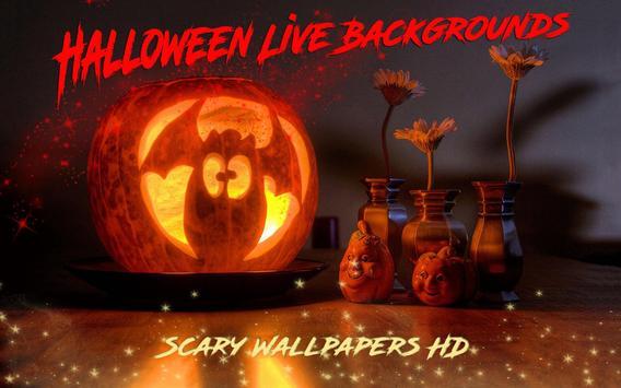 Live Halloween Wallpaper Scary Backgrounds Apk Screenshot