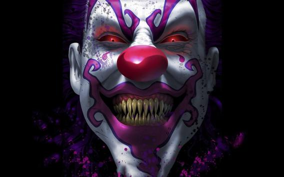 Killer Clown Live Wallpaper Scary Backgrounds Apk Screenshot