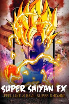 Super saiyan FX poster