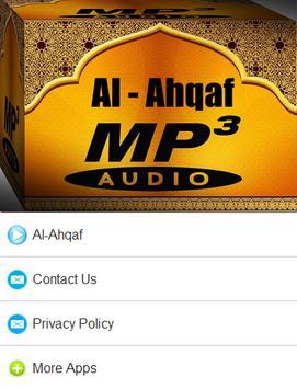 Surah Al - Ahqaf Mp3 apk screenshot