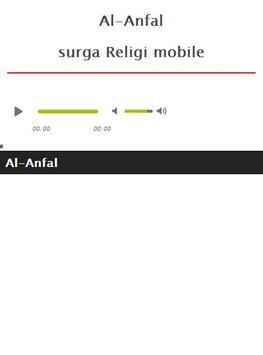 Surah Al Anfal MP3 apk screenshot