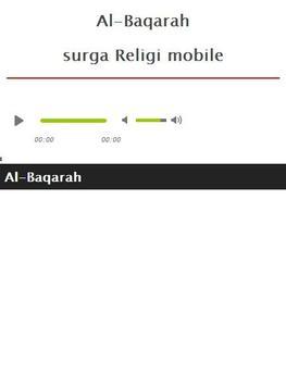 Surah Al Baqarah MP3 screenshot 1