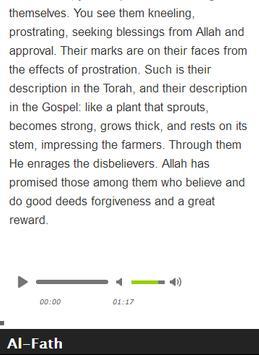 Surah Al - Fath Mp3 screenshot 5
